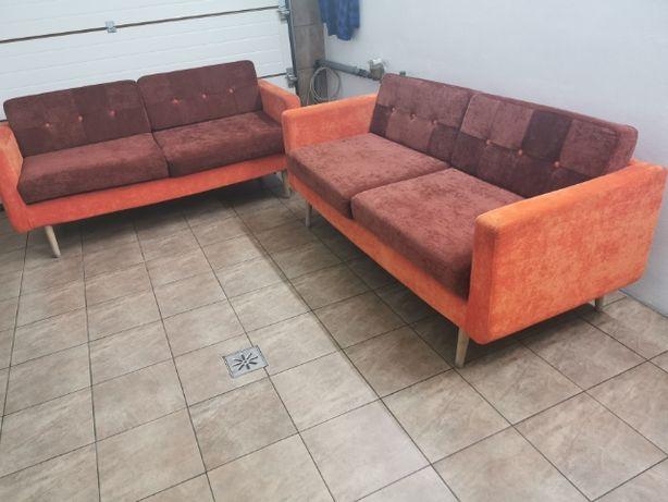 Sofa w stylu skandynawskim 2 szt.