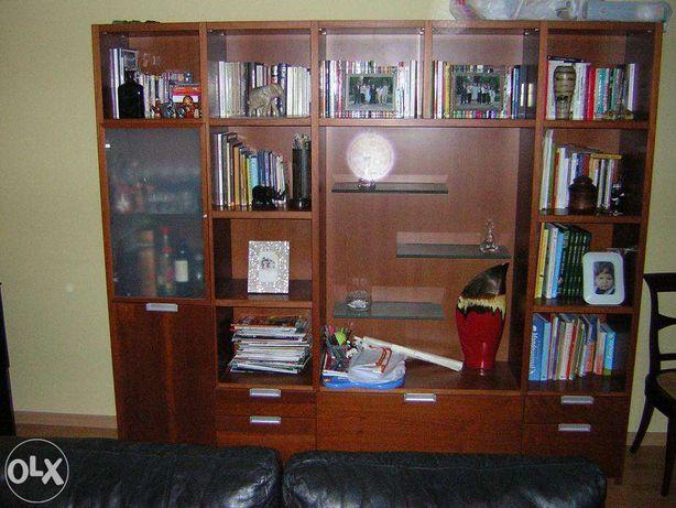 Móvel de sala/escritório cerejeira