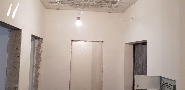 Без посредников.Шпаклевка стен и потолков.Стартовая штукатуркаЦены.