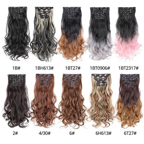 омбре амбре волося термо волосся балаяж накладные волосы на заколках
