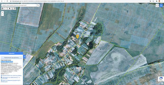 Участок село Опанасов (смт. Калита)