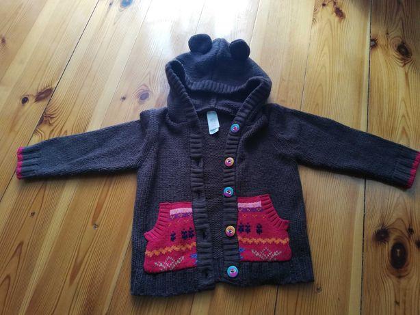 Sweterek rozpinany C&A, rozm. 86