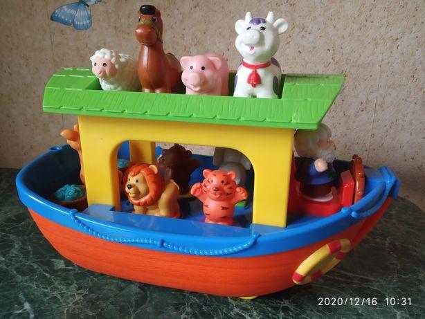 Развивающая музыкальная игрушка Ноев Ковчег, Kiddieland