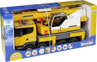 Brinquedo BRUDER Camião Grua 03570 - NOVO