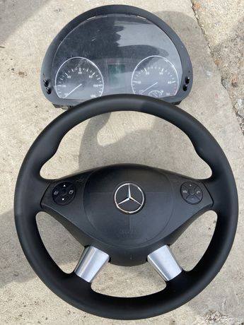 Руль Мультируль +Airbag+Щиток Mercedes sprinter