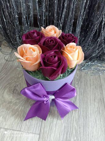 Букет, букет из роз,мыльный букет,мыльные розы