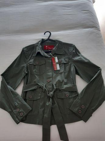 Camisa parka verde