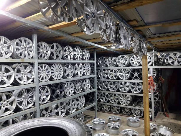 Felgi Aluminiowe WV-AUDI-Duży wybór-Montaż