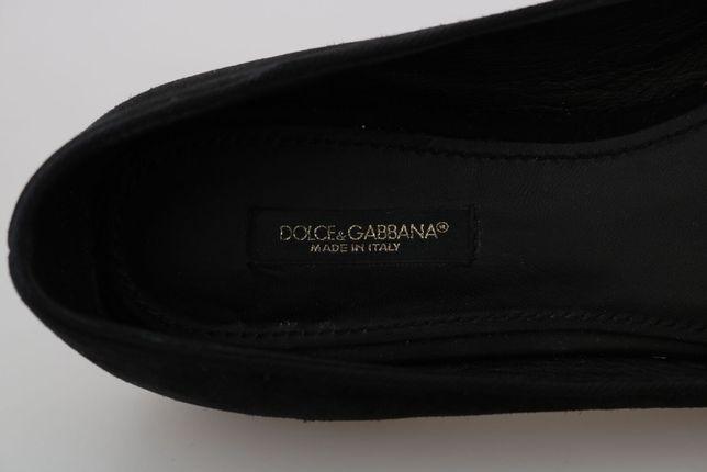 Sapatos rasos Dolce & Gabbana genuínos tam. 38,5