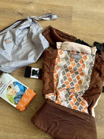 Эрго-рюкзак DLIGHT от Love&Carry+накладки в комплекте