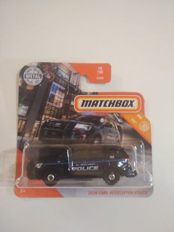 Matchbox 2016 Ford Interceptor Utility