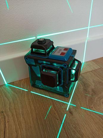 !БИРЮЗОВЫЙ ЛУЧ! Лазерный уровень 3D HILDA 12 линий 3х360