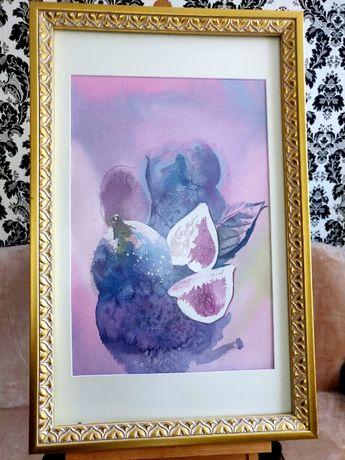 Картина в подарок авторская работа, живопись, декор на стену