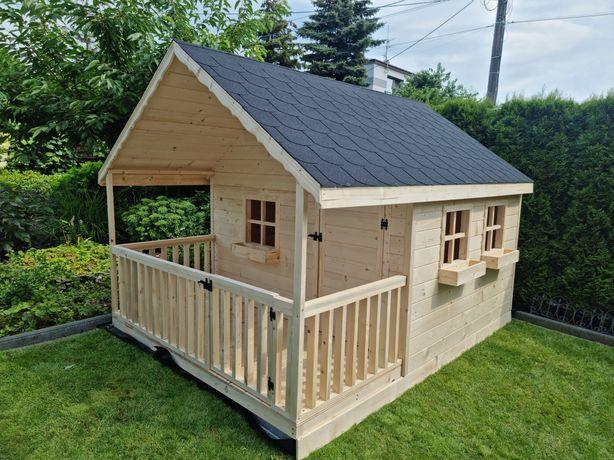 Duży masywny domek drewniany , dla Dzieci lub na działkę