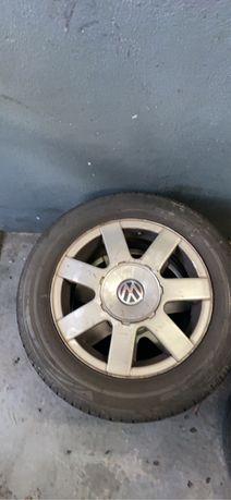 Jantes vw 15 5x112 com pneus