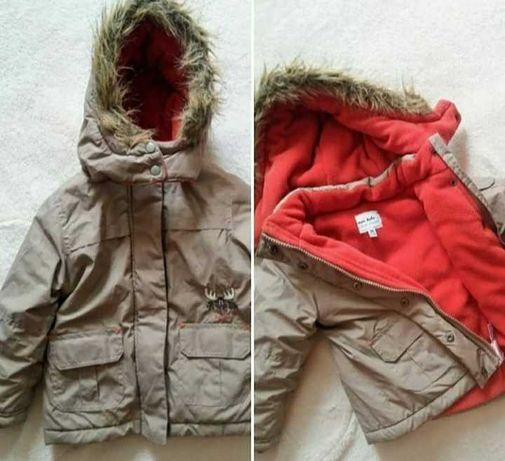 Зимняя курточка на мальчика в идеальном состоянии!
