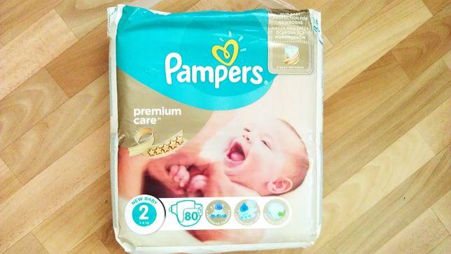 Подгузники Pampers Premium care Памперсы - 80 шт