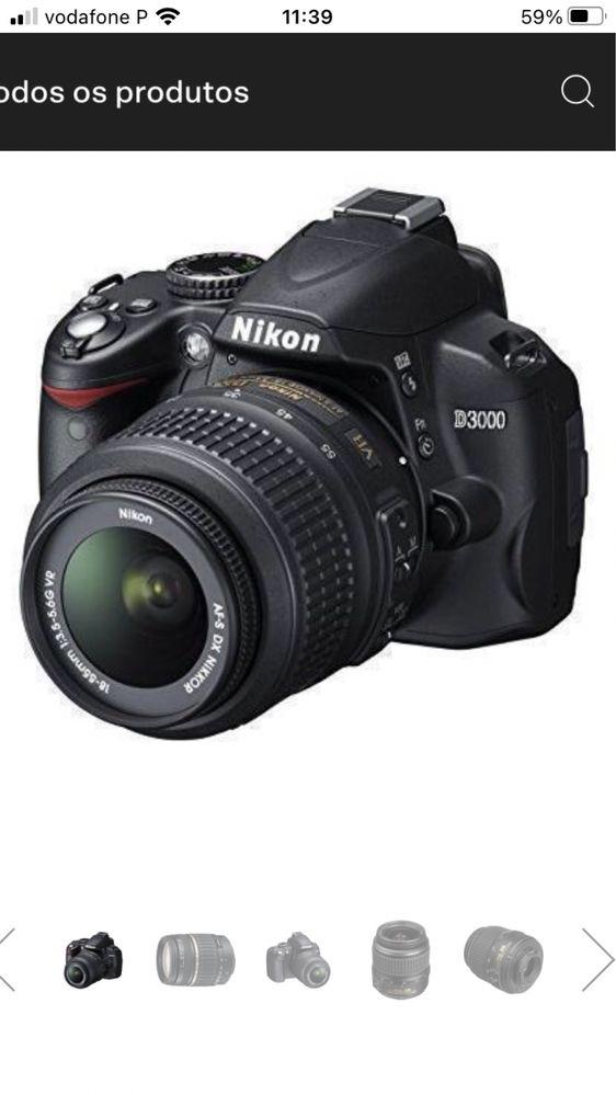 Nikon D3000 usada em bom estado
