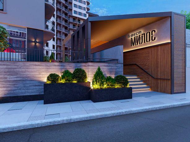 ЖК Милос 1 ком квартира 33 кв.м от СК Гефест с рассрочкой