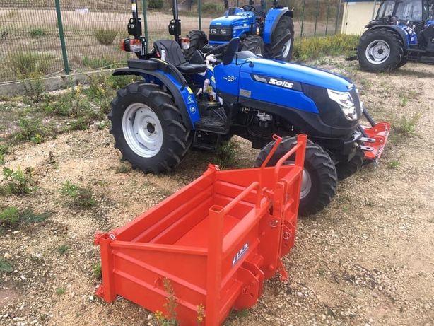 Tractor Solis mini 26 com 3 alfaias - Campanha Imperdível