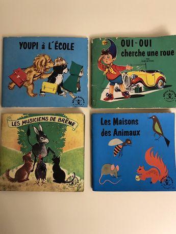 """Livros de Histórias Infantis """"Antigos"""" em Francês"""