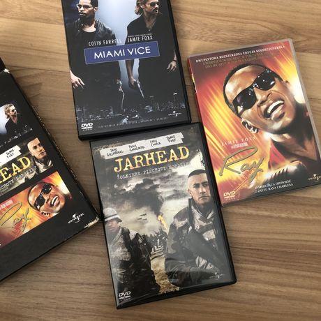 Zestaw filmów filmy Miami Vice, Jarhead, Ray, Jamie Foxx