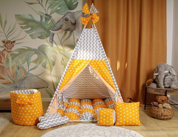 Дитячий вігвам палатка, будиночок. Тільки натуральні матеріали.