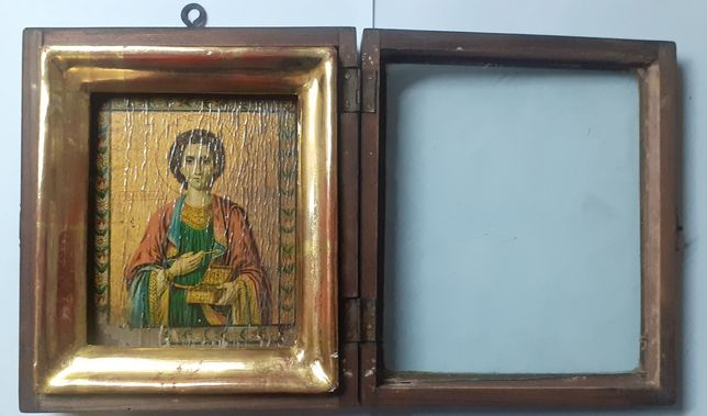 Икона Святой Великомученик и целитель Пантелеймон.
