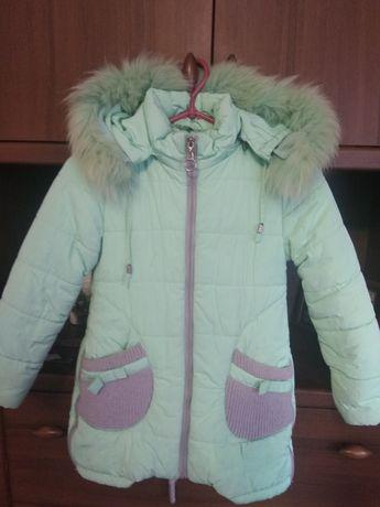 Зимняя курточка на девочку 300гр.