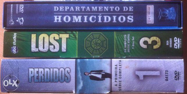 Dvd`s colectâneas de series