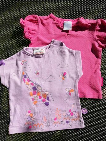 Koszulki niemowlęce Coccodrillo, rozm. 62, 74