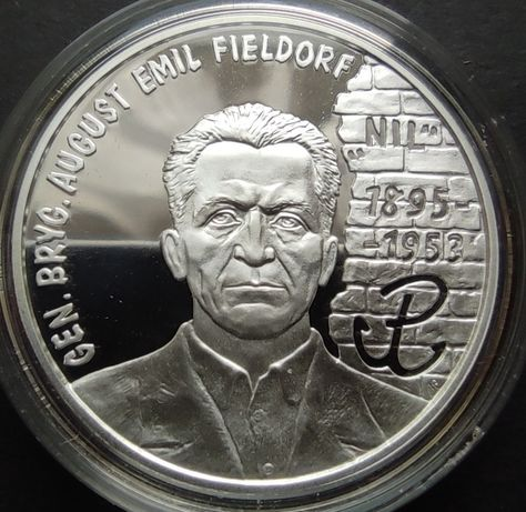 """10 zł 1998 Emil Fieldorf  """"Nil"""""""