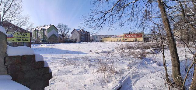 Działka inwestycyjno-budowlana w centrum Bartoszyc