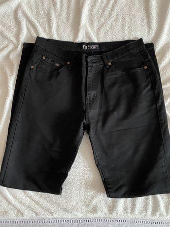 Чоловічі чорні джинси