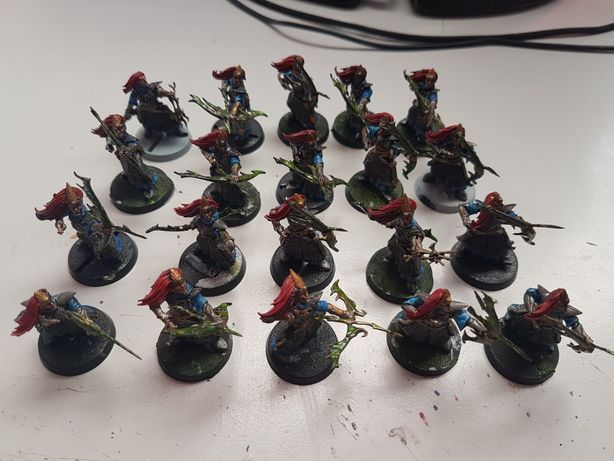 20x Sister of the Watch High Elves Warhammer FB