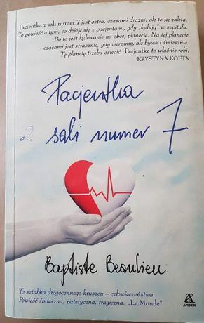 Pacjentka z sali numer 7 - Beaulieu Baptiste książka