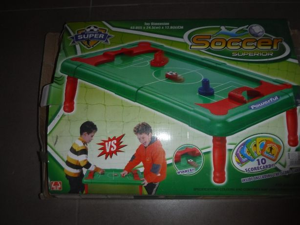 Jogo soccer - prenda de natal