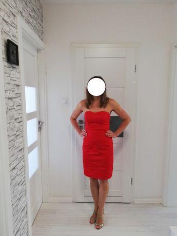 Sukienka rozm.36 H&M czerwona