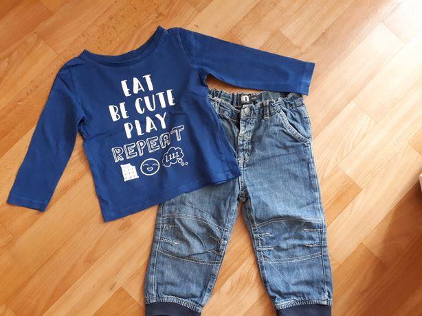 Одежда на мальчика ( джинсы, свитшот, реглан)р.86