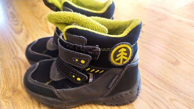 Buty dziecięce zimowe śniegowce nieprzemakalne