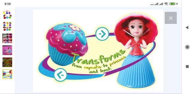Лялька - кексик 2 в 1