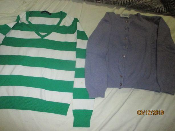4 pulovers e casacos de senhora de várias marcas