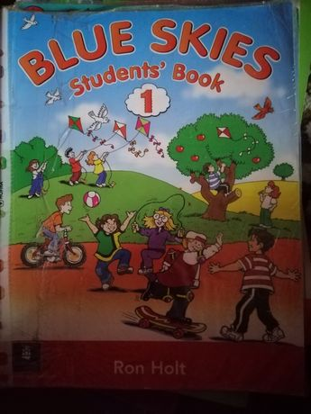 Blue skies 1 (student's book, starter book, work book)