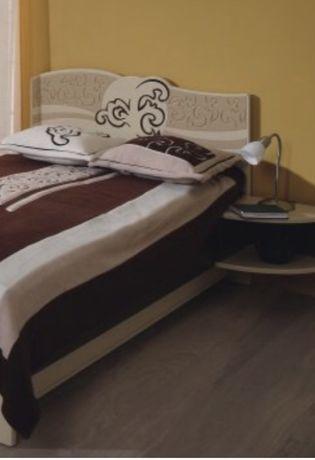 Łóżko z szafką nocną firmy Meblik kolekcja Carmel