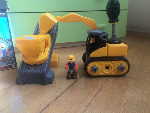 Конструктор Экскаватор и подъемник-конвейер CAT (80913)
