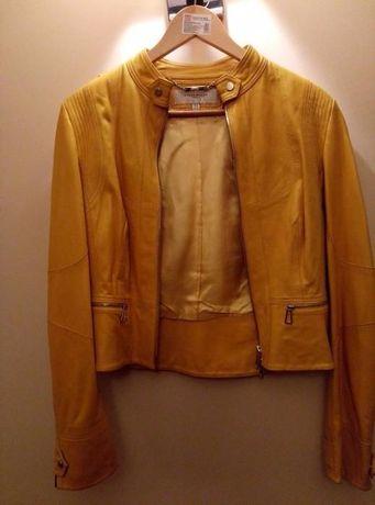 продам женскую кожаную куртку Karen Miller