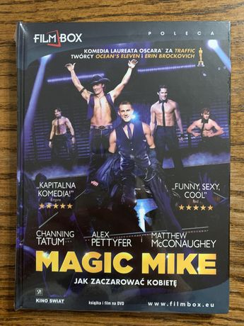 Magic Mike film dvd, nowy w folii