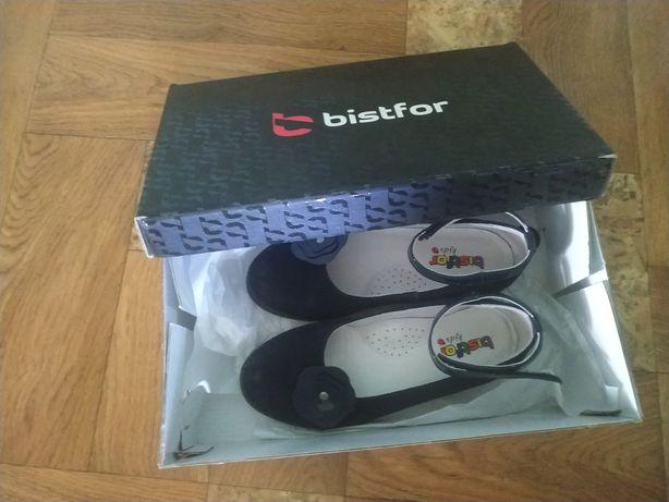 Замшевые туфли Bistfor для девочки размер 32