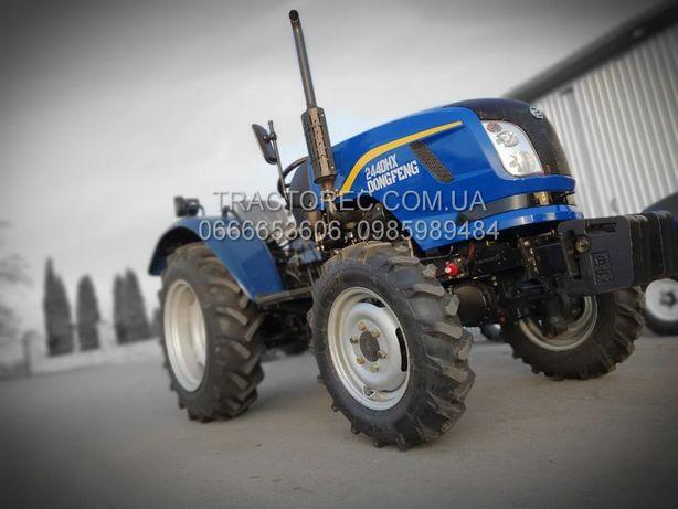 Оригінал!Трактор Dong Feng DF 244DHX 25 к.с ГПК широкі шини! Донг фенг