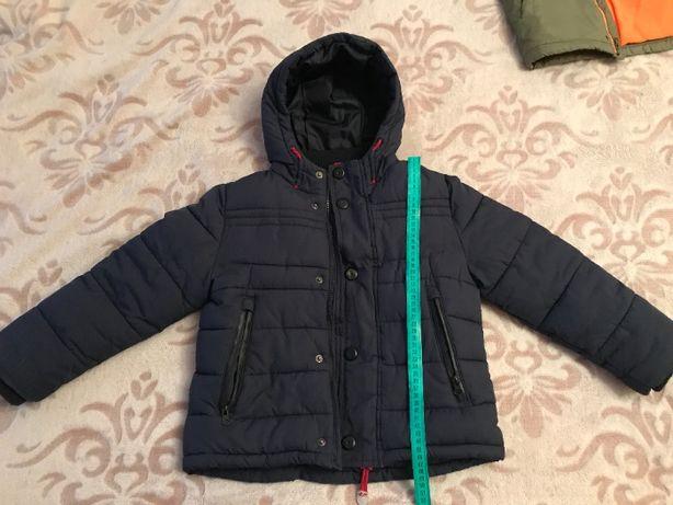 Детская зимняя куртка Marks&Spencer, разм 5-6 лет, 116